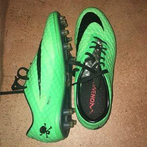 Nike Shoes - Green Nike ACC Soccer Cleats Hypervenom Phantom